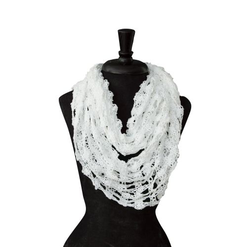 Lady Mary Cowl, White