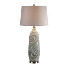 Uttermost Griseo Sage Gray Table Lamp