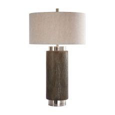 Uttermost Cheraw Wood Cylinder Lamp