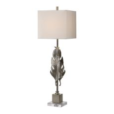 Uttermost Luma Metallic Silver Lamp