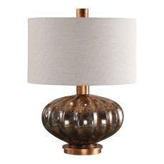 Uttermost Dragley Bronze Mercury Glass Lamp