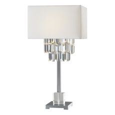 Uttermost Resana Polished Nickel Lamp
