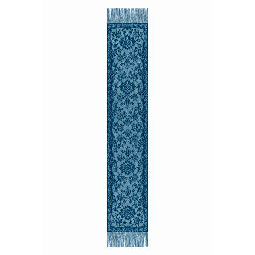 Lady Mary 15X80 Scarf W/ Fringe, Estate Blue