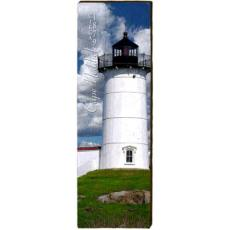 Cape Neddick Lighthouse Wood Wall Art