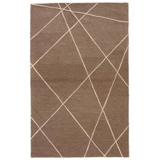 Abstract Pattern Wool Lounge Area Rug