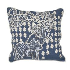 Animal Print Pattern Linen En Casa By Luli Sanchez Pillows Down Fill Pillow