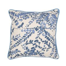 "Southwestern & Country Pattern Blue Cotton Down Fill Pillow ( 18""X18"")"
