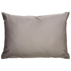 """Modern/Contemporary Pattern Ivory/Orange Cotton And Polyester Down Fill Pillow ( 14""""X20"""")"""