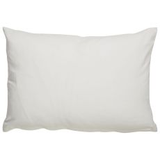 """Modern/Contemporary Pattern Ivory/Taupe Cotton And Polyester Down Fill Pillow ( 14""""X20"""")"""