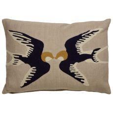 Animal Print Pattern Cotton En Casa By Luli Sanchez Pillows Down Fill Pillow