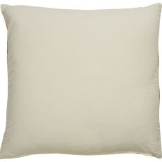 "Southwestern & Country Pattern Ivory/Yellow Cotton Down Fill Pillow ( 18""X18"")"