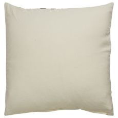 "Southwestern & Country Pattern Ivory/Black Cotton Down Fill Pillow ( 18""X18"")"
