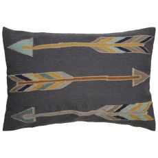 Southwestern & Country Pattern Wool And Cotton En Casa By Luli Sanchez Pillows Down Fill Pillow