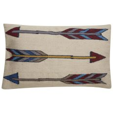 Southwestern & Country Pattern Wool And Cotton En Casa By Luli Sanchez Pillows Poly Pillow
