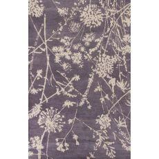 Floral & Leaves Pattern Wool En Casa By Luli Sanchez Tufted Area Rug
