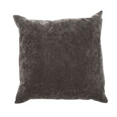"Modern/Contemporary Pattern Black Linen And Cotton Down Fill Pillow ( 20""X20"")"