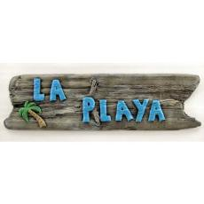 La Playa Beach Sign