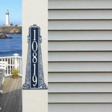 "Lighthouse Address Plaque 18"""