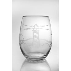 Light House White Wine Tumbler Glass