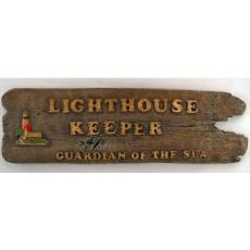 Lighthouse Keeper Sign