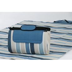 Blue Stone Stripe Large Mega Mat