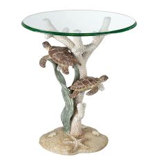 Turtle Sealife Accent Table