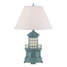 Sky Blue Lighthouse Night Light Table Lamp
