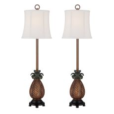 Accent Pineapple Table Lamp (Set Of 2)