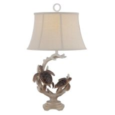 Turtle Staghorn Table Lamp (set of 2)