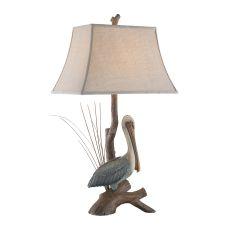 Natural Pelican Table Lamp