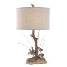 Natural Sandpipers Table Lamp