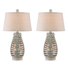 Reef Rope Lantern Night Light Table Lamp (Set Of 2)