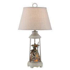 Turtle Reef Night Light Table Lamp Set of 2