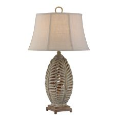 Open Leaf Table Lamp Set of 2