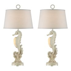 Seahorse Night Light Table Lamp (Set Of 2)