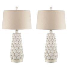 Seashell Night Light Table Lamp (Set Of 2)