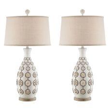 Sandollar Night Light Table Lamp (Set Of 2)