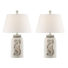 Accent Seahorse Night Light Table Lamp (Set Of 2)