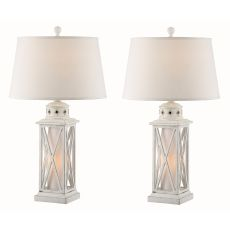 Galveston Island Night Light Table Lamp (Set Of 2)
