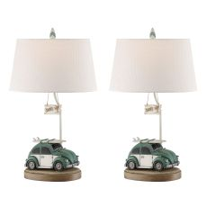 Lets Go Surfing Table Lamp (Set Of 2)