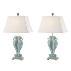 Seahorse Table Lamp (Set Of 2)