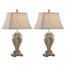 Seahorses Table Lamp (Set Of 2)