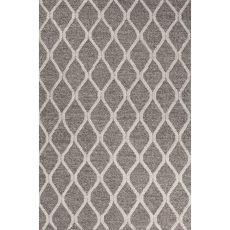 Tribal Pattern Wool And Viscose Maverick Area Rug