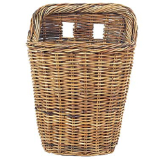 French Country Rattan Wall Basket