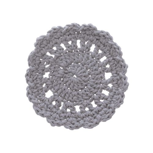 "Mode Crochet 5"" Round Coaster"