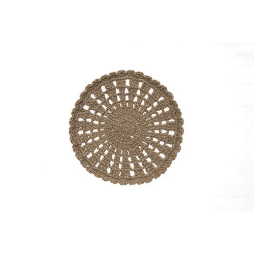 "Mode Crochet 8"" Round Doily"