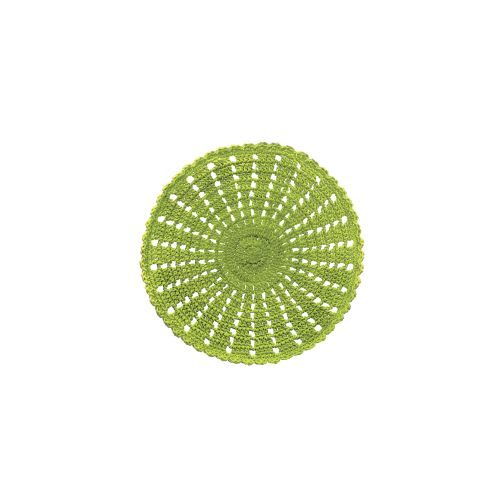 "Mode Crochet 12"" Round Doily"