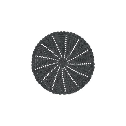 "Mode Crochet 15"" Round Doily/Charger"