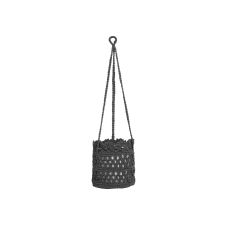 Mode Crochet 6X6X6 Hanging Basket