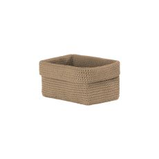 Mode Crochet 8X5X6 Rectangle Basket